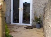 French Doors Exterior: Single French Door Exterior