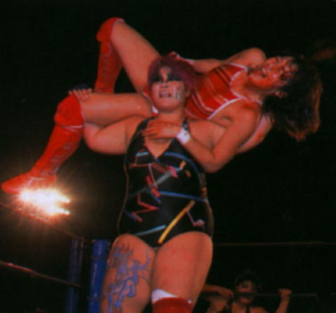 Wrestling donne in amore
