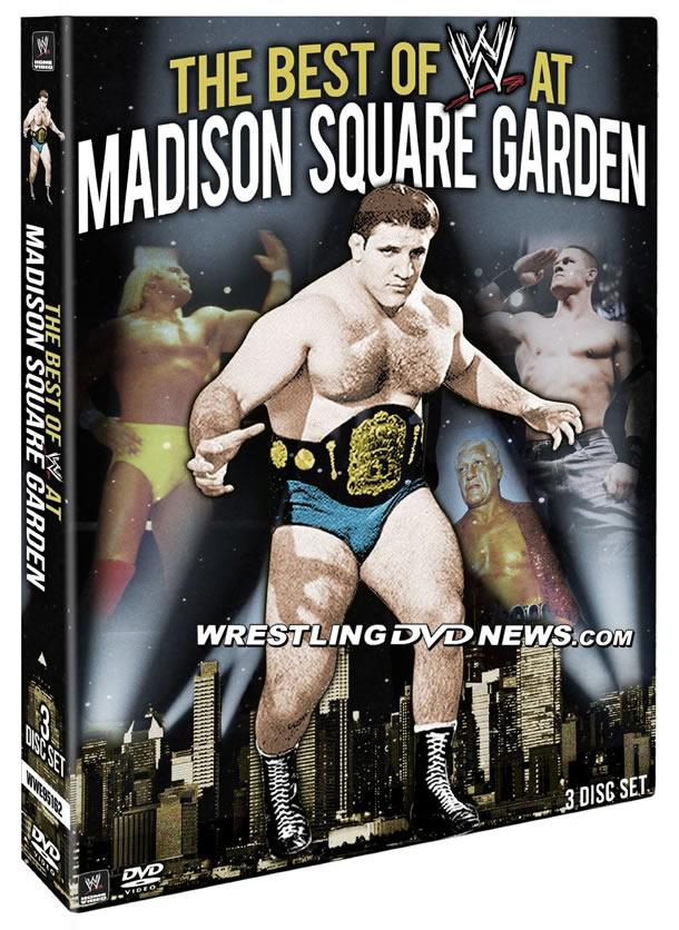 Cover Artwork For The Best Of Wwe At Madison Square Garden Dvd Online World Of Wrestling