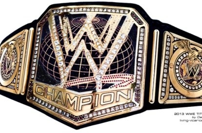 WWE 2013 TITLE DZ EDIT BLACK