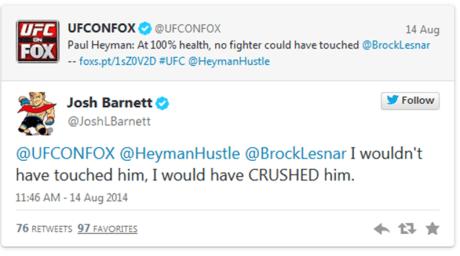 Tweet UFC