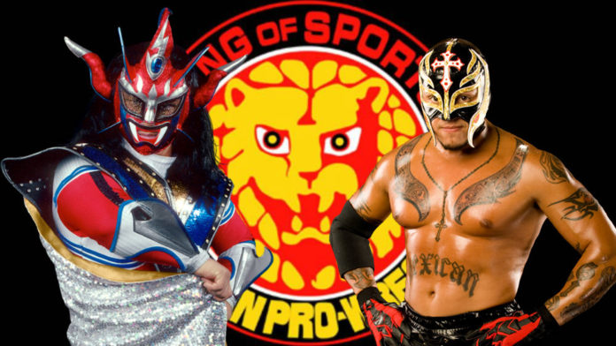 Cheap Black And White Wallpaper Rey Mysterio Jr Appears At New Japan Pro Wrestling And