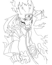 naruto coloring pages | Only Coloring Pages
