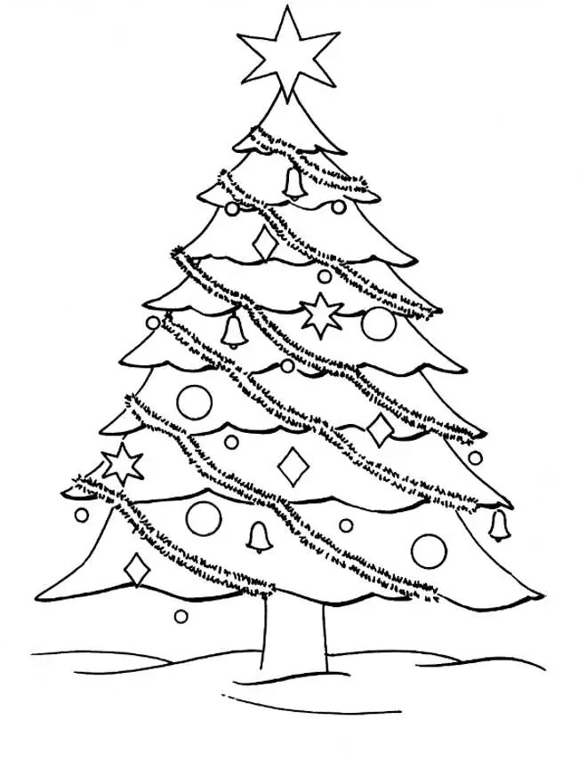 cozy christmas trees coloring pages printable games 2