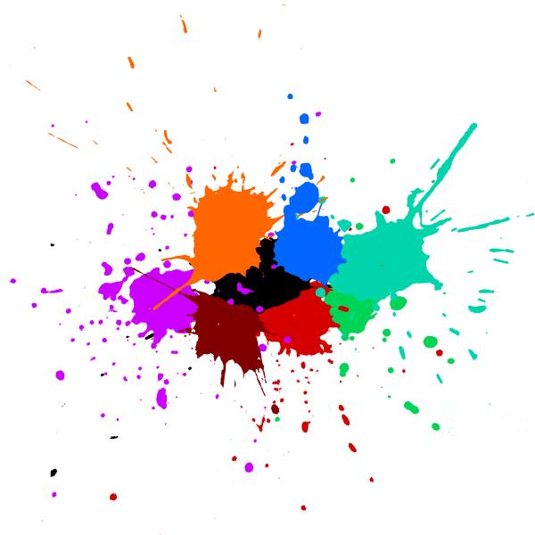 3d Colour Wallpaper Free Download 5 Colorful Paint Splash Background Vector Svg Onlygfx Com