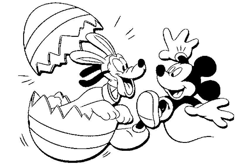 Disney Easter Coloring Pages - Eskayalitim