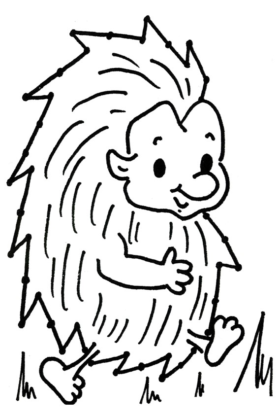 Fall Hedgehog Wallpaper Autumn Coloring Pages To Color In When It S Wet Outside