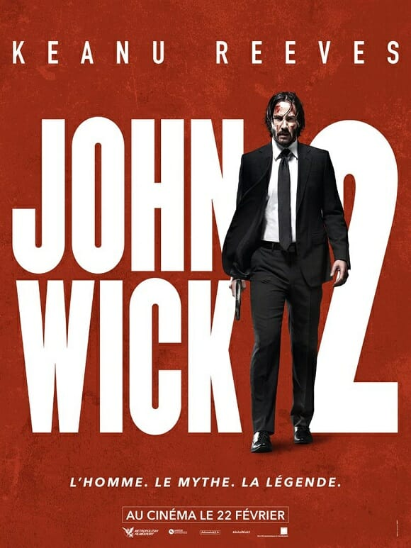 [Critique] JOHN WICK 2