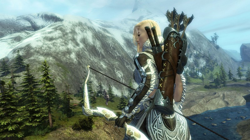 Girl With Sword Wallpaper Guild Wars 2 Overview Onrpg