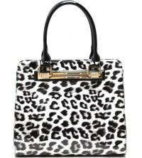 Fashion handbag With Cheetah Print - Animal Print - Onsale ...