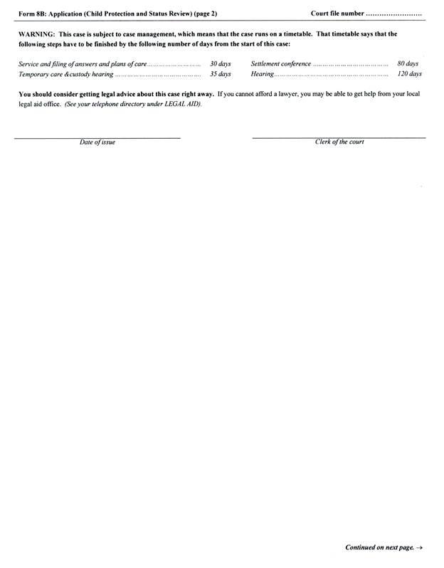 temporary custody form cvresummer - temporary guardianship form