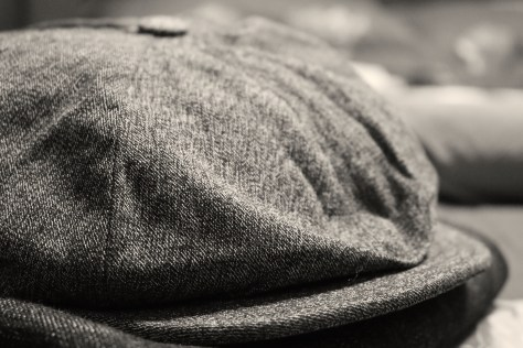 A new cap. Also 100% cotton and made in Shenyang.