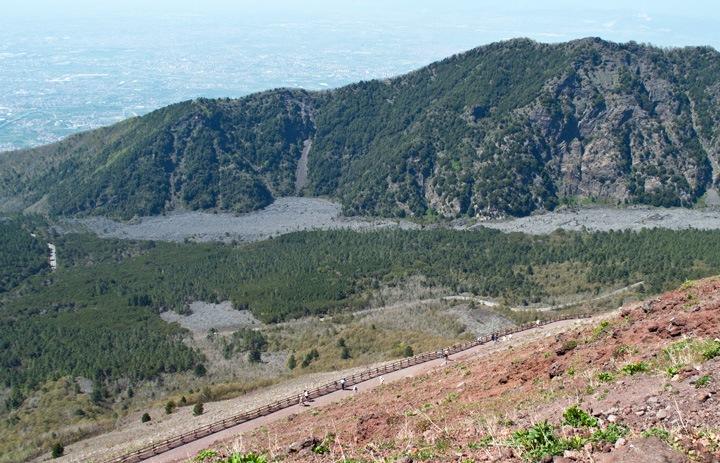 Vesuvius track