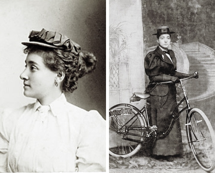 Annie Londonderry - the first woman to cycle around the world
