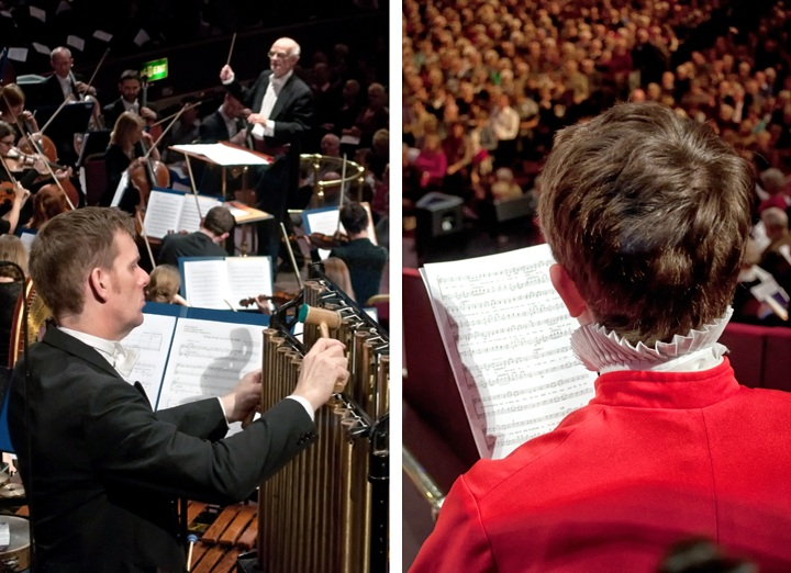 Choir at the Royal Albert Hall, London