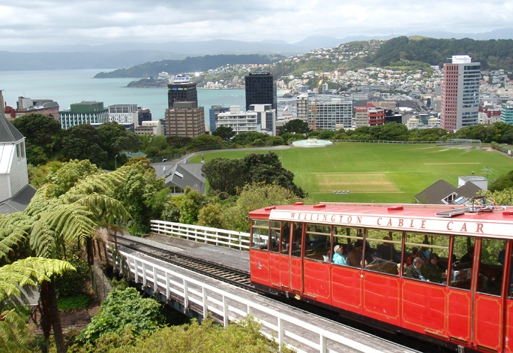 Wellington in New Zealand