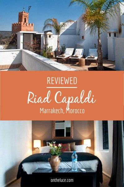 A Moroccan escape to Riad Capaldi, a restored traditional riad on the edge of the souks with panoramic roof terrace views of the medina and Atlas Mountains – ontheluce.com
