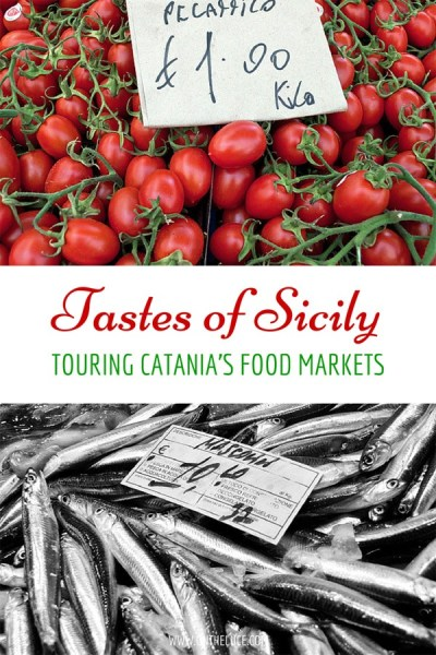 Discovering Sicilian cuisine with a guided tour around Catania's fish and produce markets, bursting with colours and delicious flavours – ontheluce.com