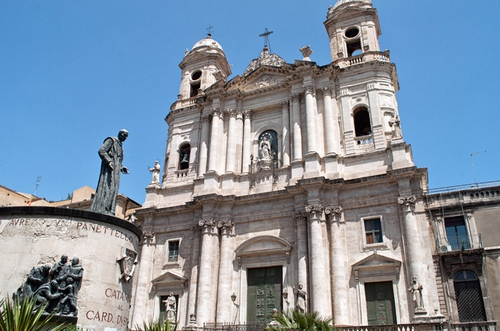 Baroque architecture in Catania, Sicily