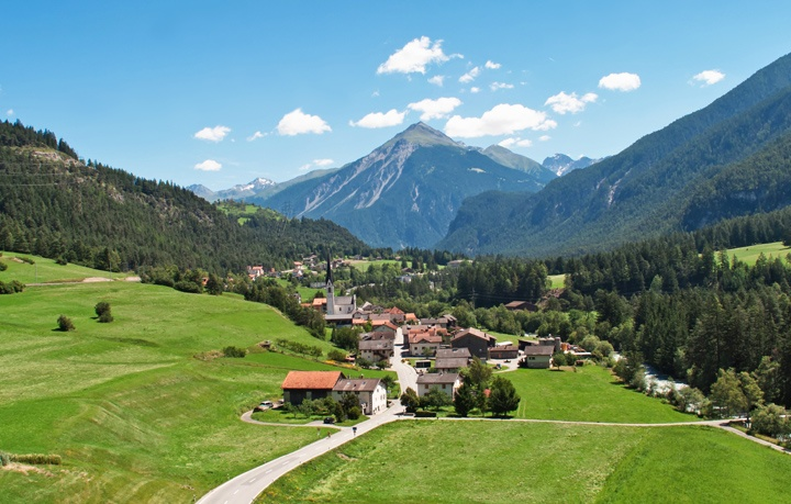 Swiss train views