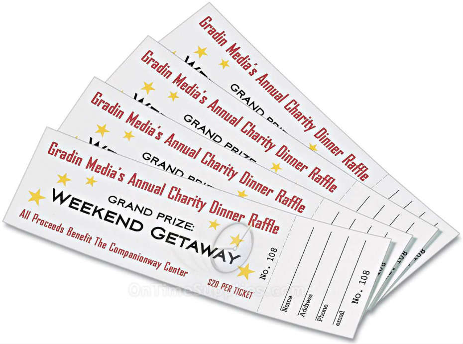 avery printable raffle tickets