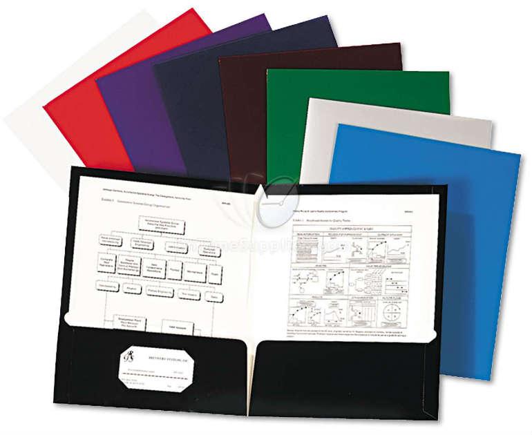 resume presentation folders