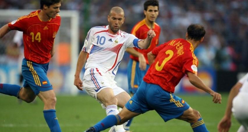 Retour sur le 1 8e de finale coupe du monde 2006 france espagne 3 1 - Coupe du monde 2006 france bresil ...
