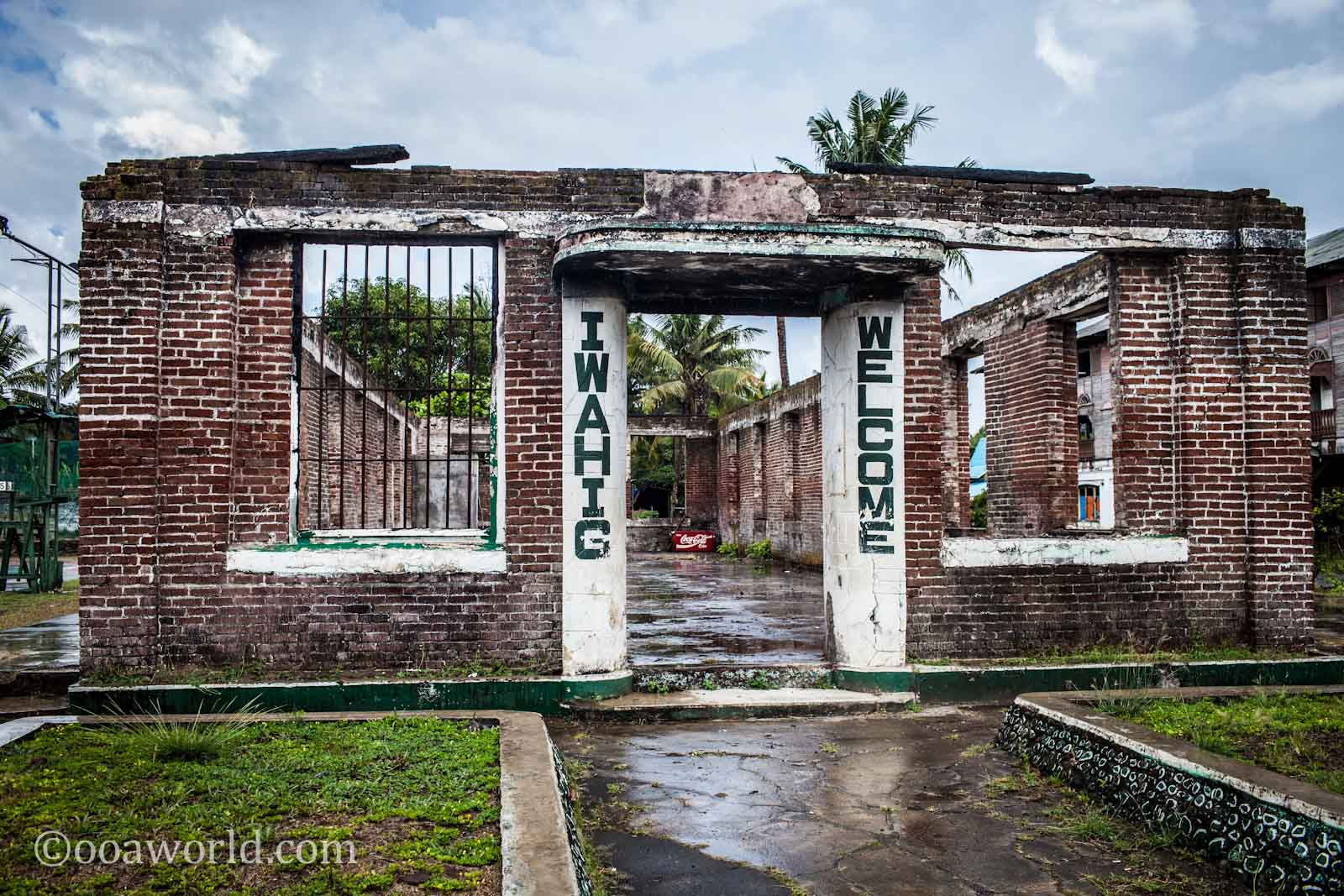 Iwahig Prison Welcome Puerto Princesa Philippines