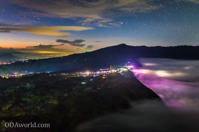 Photo Mount Bromo Indonesia Northern Lights Ooaworld