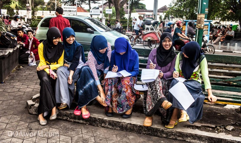 Indonesian female students