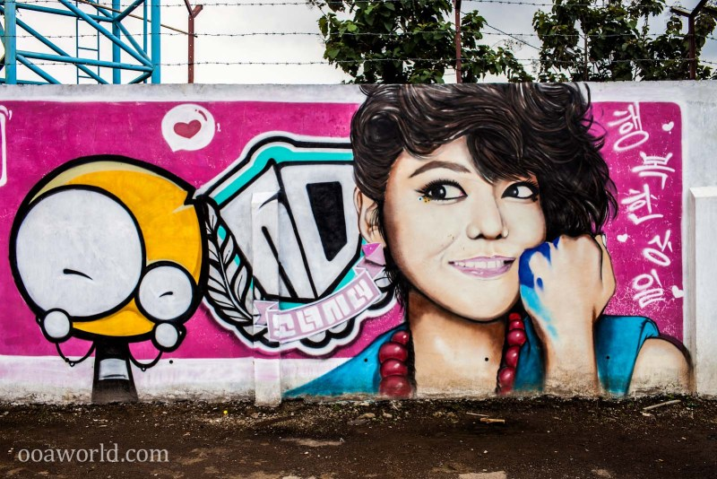 Bandung Paris Street Art Indonesia Photo Ooaworld