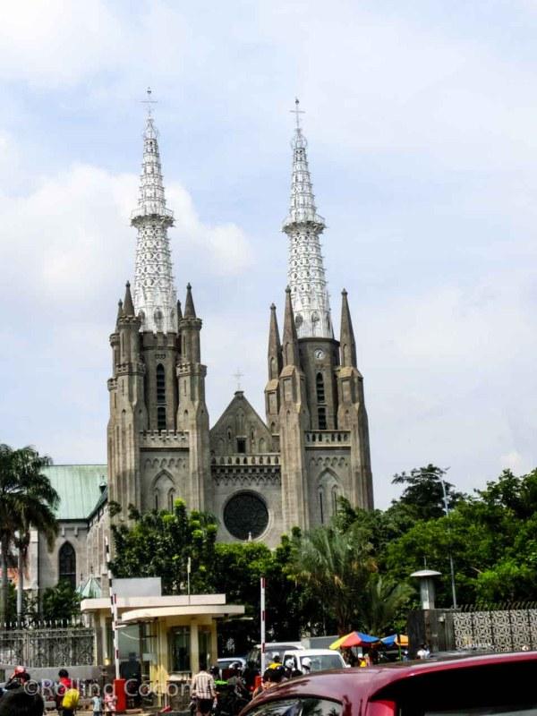 Jakarta Cathedral Indonesia Photo Ooaworld
