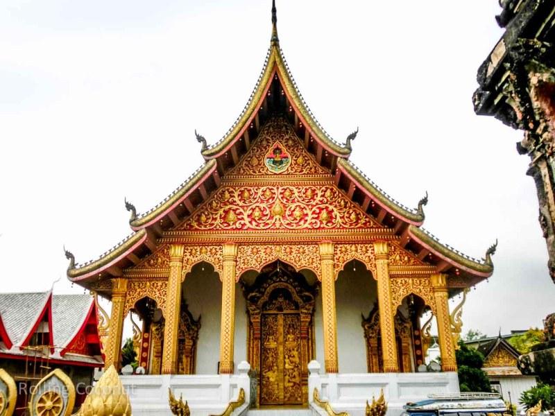 Wat Xieng Muane Luang Prabang Laos Rolling Coconut Ooaworld Photo Ooaworld