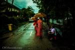 Alms Giving Feeding Monks Timelapse, Vientiane Laos, HD