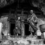 Pak Ou Caves Luang Prabang Monks Laos Photo Ooaworld