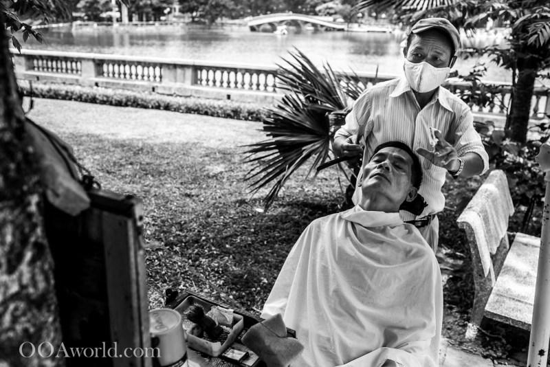 Hanoi Haircut Photo Ooaworld