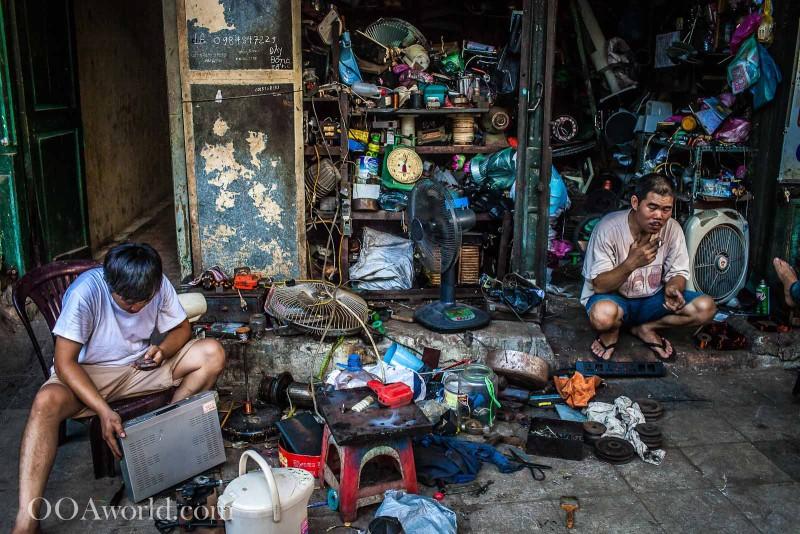 Vietnam Repairs Everything Photo Ooaworld