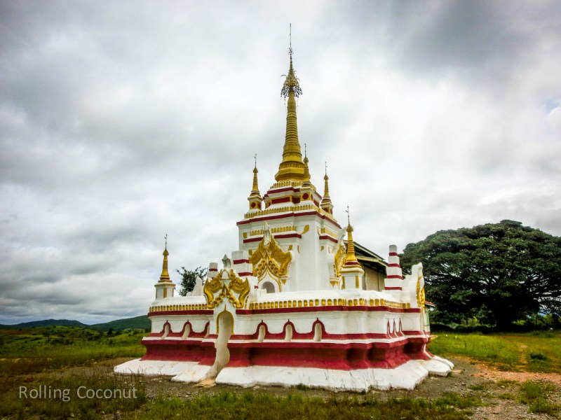 Kalaw Inle Lake Trek Myanmar Stupa Photo Ooaworld