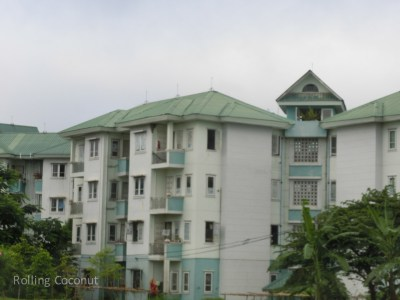 Apartment Buildings Naypyidaw Myanmar ooaworld Rolling Coconut Photo Ooaworld