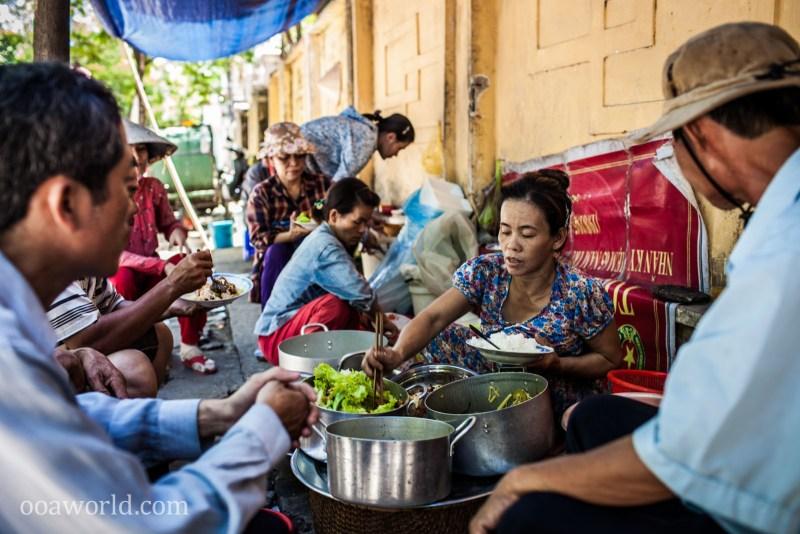Street Food Vietnam Hue Photo Ooaworld