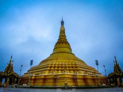 Uppatasanti Pagoda Naypyidaw Myanmar Ooaworld Rolling Coconut Photo Ooaworld