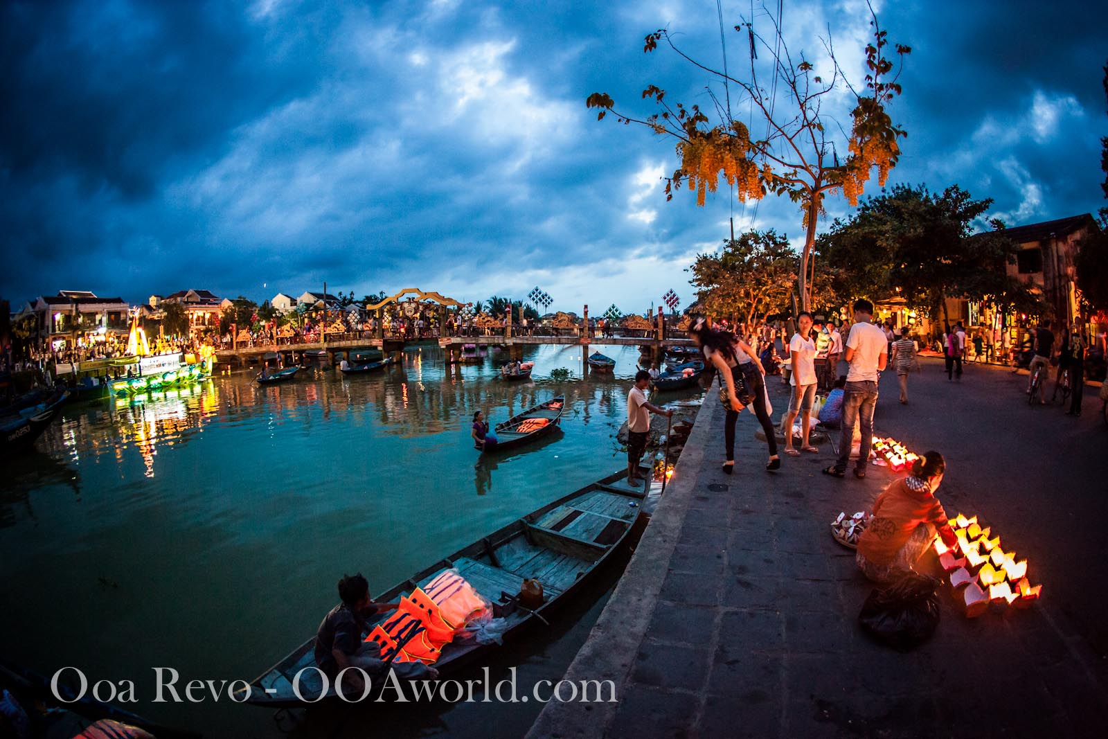 Hoi An Full Moon Lantern Festival Perfume River Photo Ooaworld