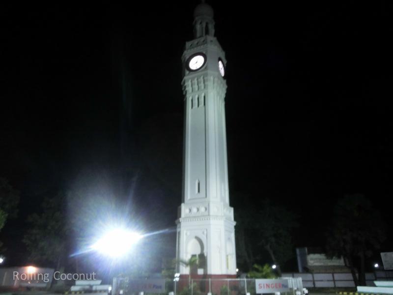 Clock Tower Jaffna Sri Lanka ooaworld Rolling Coconut Photo Ooaworld