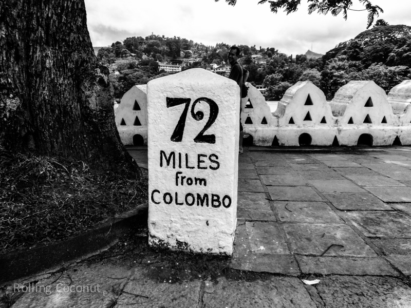 Kandy Mileage from Colombo Sri Lanka ooaworld Rolling Coconut Photo Ooaworld