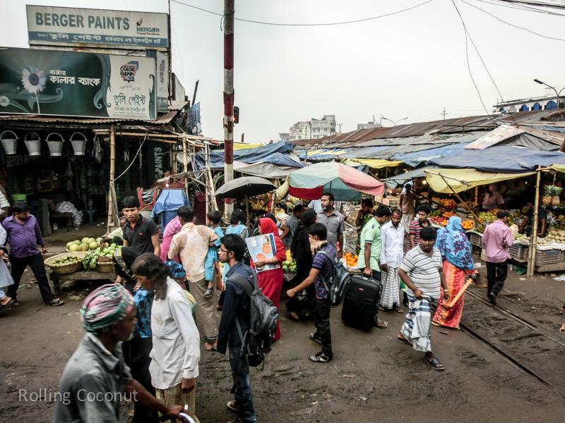 Bangladesh Cox's Bazar Bus Station in Dhaka from Mongla ooaworld Rolling Coconut Photo Ooaworld
