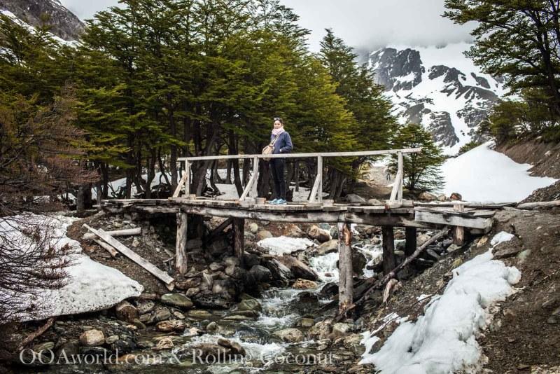 Ushuaia Argentina Hike Bridge Glacier Martial ooaworld Rolling Coconut Photo Ooaworld