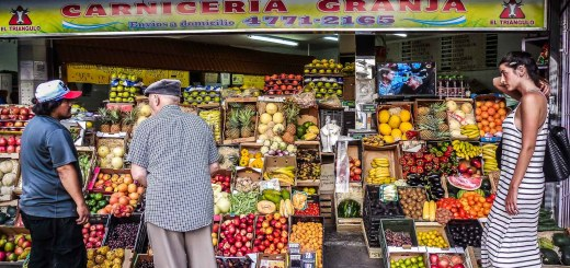 Argentina Buenos Aires Groceries in Montserrat Rolling Coconut OOAworld Photo Ooaworld