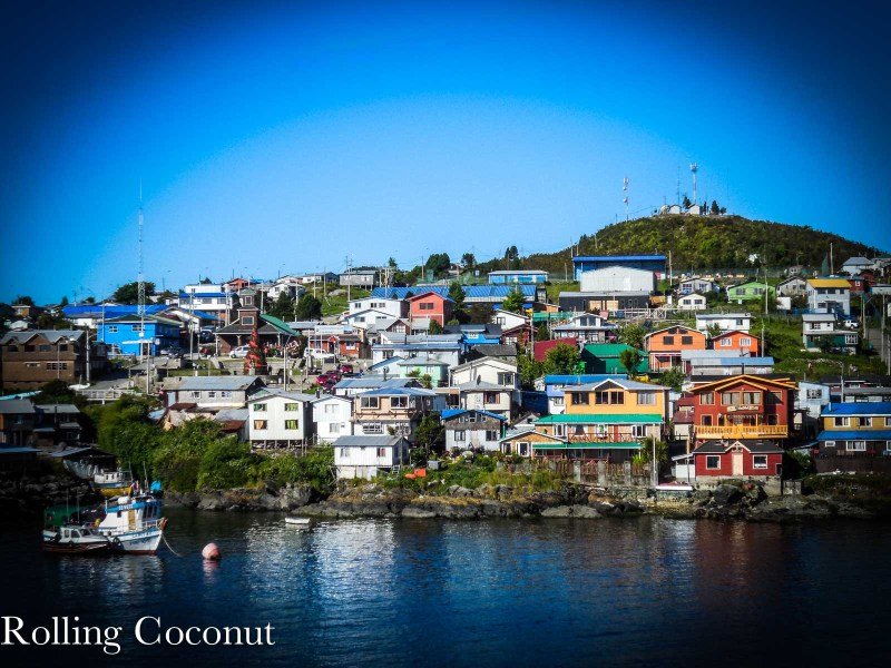Melinka Chile Quellon Chile Chico Houses Rolling Coconut OOAworld Photo Ooaworld