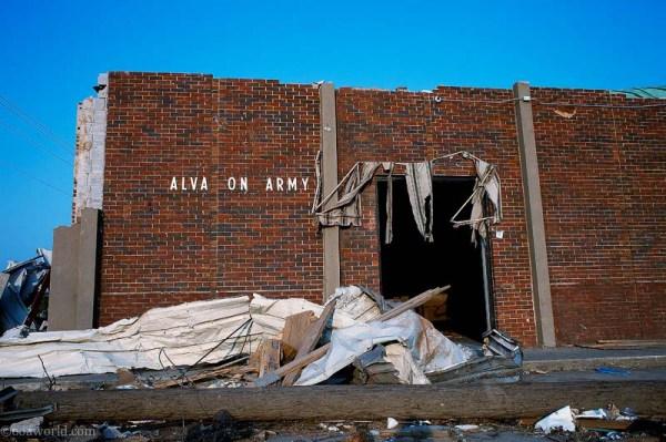 Photos Mississippi Alabama Salvation Army building ravaged by Tornado, Tuscaloosa