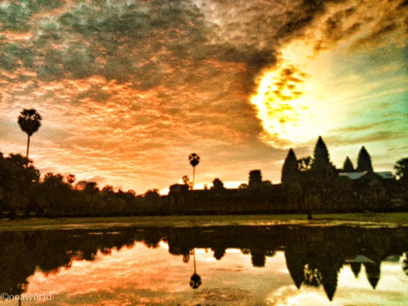 Angkor Wat Sunrise Instagram photo ooaworld